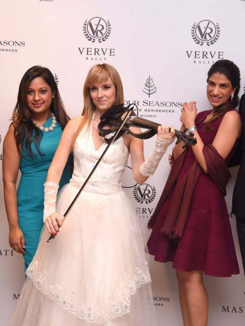 Nandini Singh, Darshana Ubl, Violinist, Ghazalah Moloobhoy, Marcus Ubl