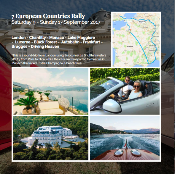 7 EUROPEAN COUNTRIES RALLY