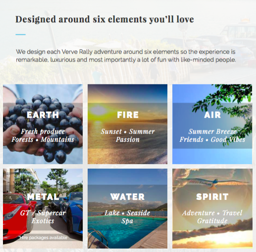 SIX ELEMENTS NOT TO BE MISSED