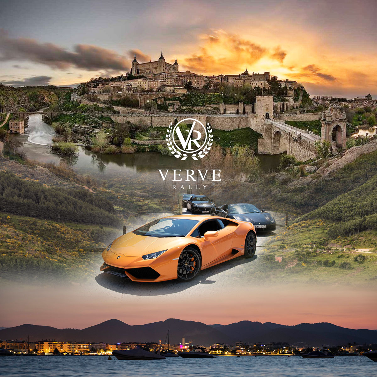 Verve Rally Spanish Escapes - London to Ibiza Supercar Rally
