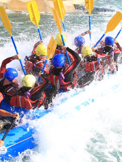 White water rafting with GB Gold Medal Winner - Verve Rally Charity Gala